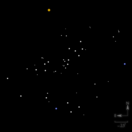 Dessin de NGC 2281