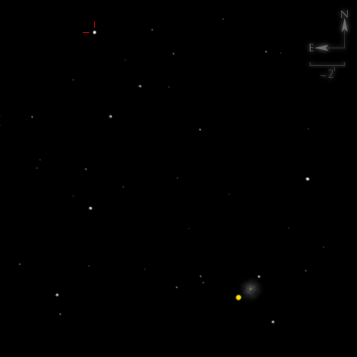Dessin de NGC 5634 & 5 Astraea