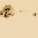 NOAA 10772, groupe de taches solaires