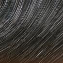 Filé d'étoiles sur l'observatoire Sirene