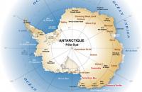 Carte générale de l'Antarctique