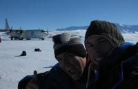 Alex et moi, en Antarctique !