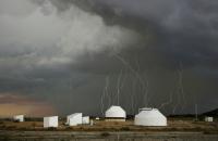 Orage sur l'observatoire Sirene