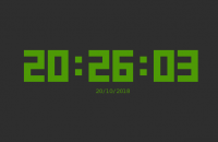 Horloge tty-clock