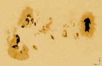 NOAA 10776, groupe de taches solaires
