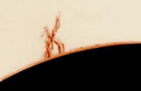 Protubérance solaire