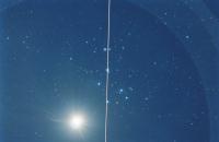 M 45, Vénus et ISS
