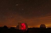 Flare Iridium au-dessus du T635 de l'observatoire Sirene