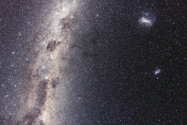 Voie-Lactée & Nuages de Magellan