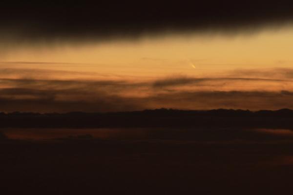 Photo de la comète C/2011 Panstarrs