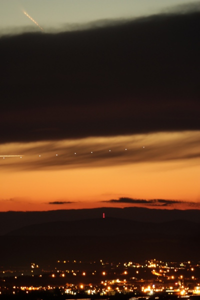 Photo de la comète C/2011 Panstarrs